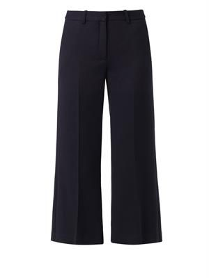Inza boot-cut cropped trousers
