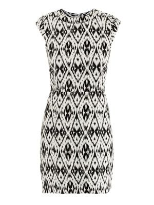 Orinthia jacquard dress