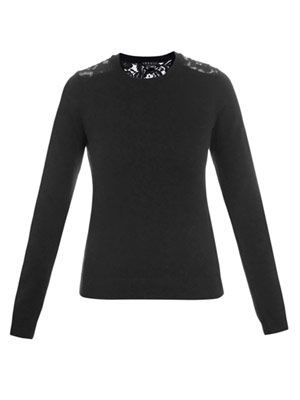 Tommie lace jumper