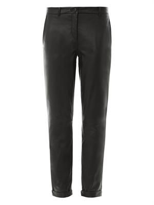 Kanga leather trousers