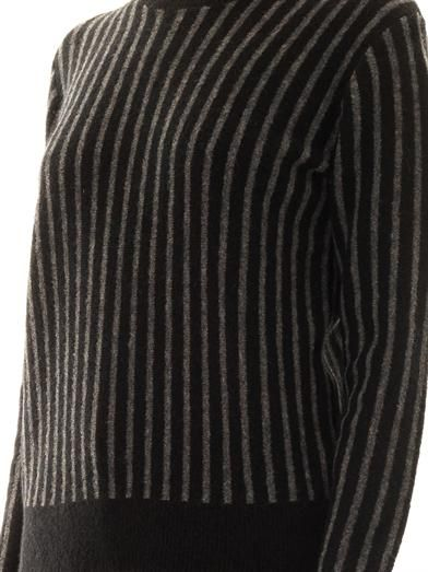 Theory Jaidyn stripe sweater