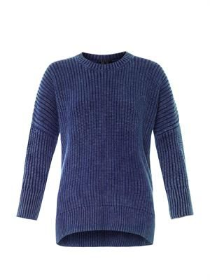Jeansella cotton-knit sweater
