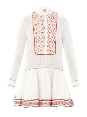 Lizabeth embroidered dress