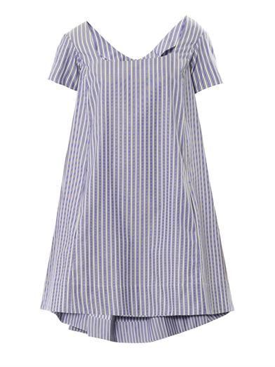 Thierry Colson Iris Sailor stripe dress