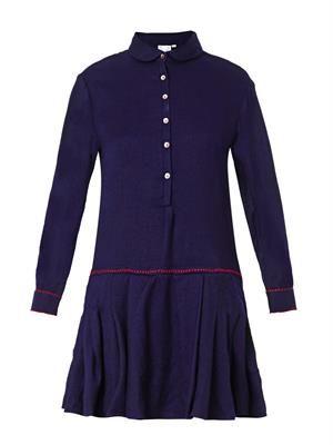 Nilaya pleated-skirt dress