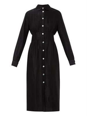 Nuccia twill shirt dress