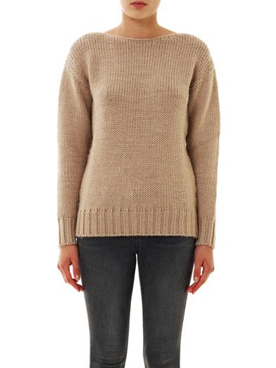 Tomas Maier Alpaca wool sweater