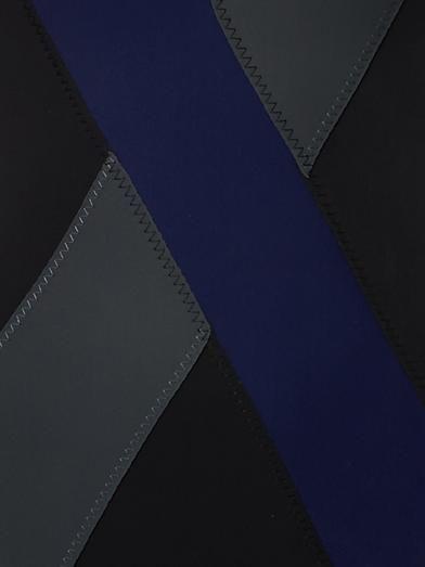 Tomas Maier Cross colour-block swimsuit