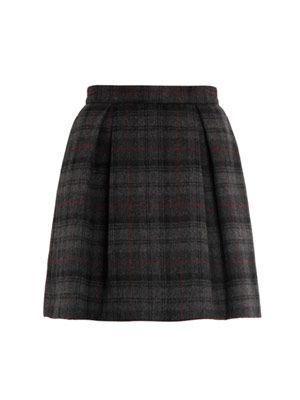 Baby Belle plaid skirt