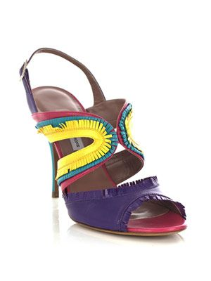 Gemma kid fringe sandals