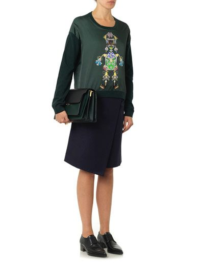 Mary Katrantzou Knipi Tikki Man sweater