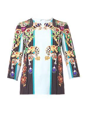 Spellbound Pendant-print blouse
