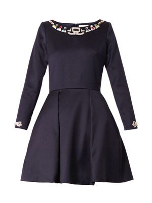 Coppelia embellished dress