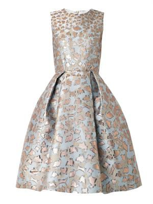 JQ Astere cookie-jacquard dress