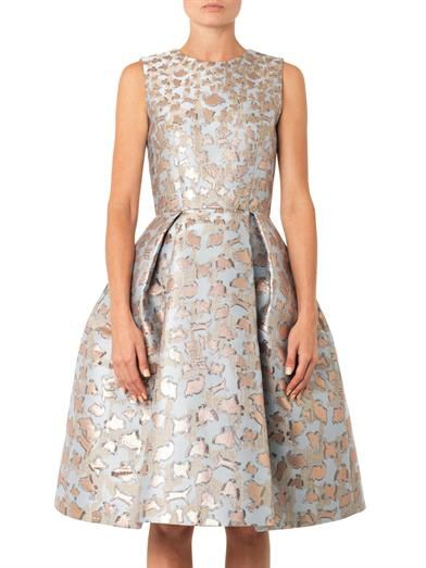 Mary Katrantzou JQ Astere cookie-jacquard dress