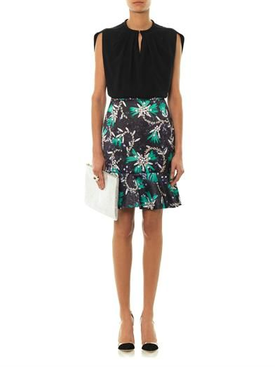 Mary Katrantzou Genero sequin and chain-print skirt