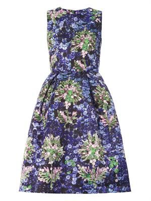 Astere jewel-print dress