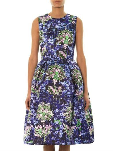 Mary Katrantzou Astere jewel-print dress