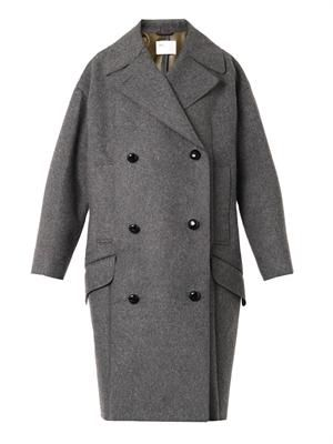 TOGA ARCHIVES Bonded wool-blend coat