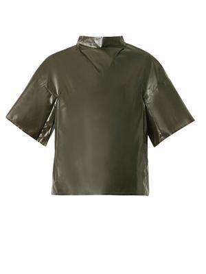 Laminate wide-sleeved top