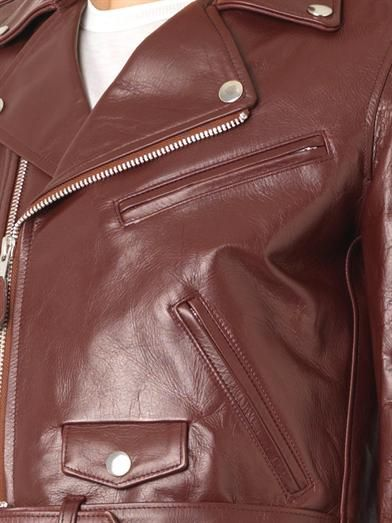 Toga Pulla Leather biker jacket
