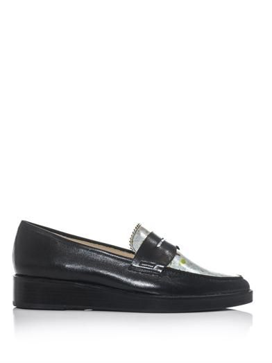 Toga Pulla Mosaic leather loafers