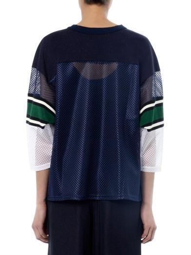 Toga Pulla Multi-panel sweatshirt