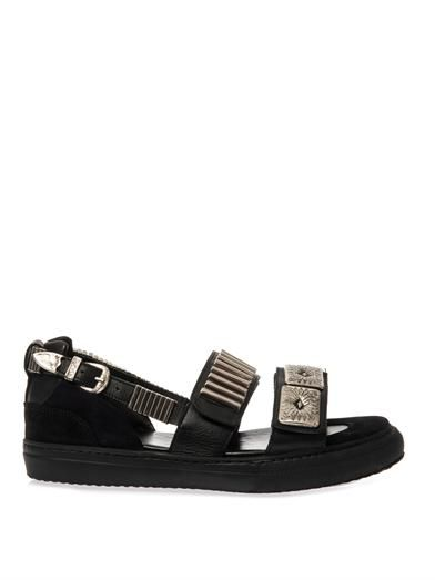 Toga Pulla Metal-embellished trainer-style sandals