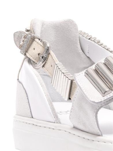 Toga Pulla Metal-embellished trainer-style sandals