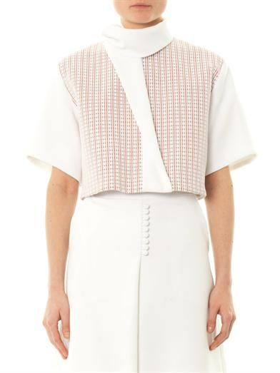 Trager Delaney Joanna cropped blouse