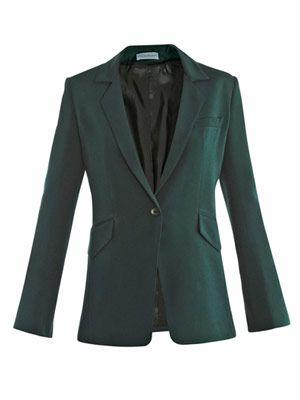 Becky silk crepe blazer