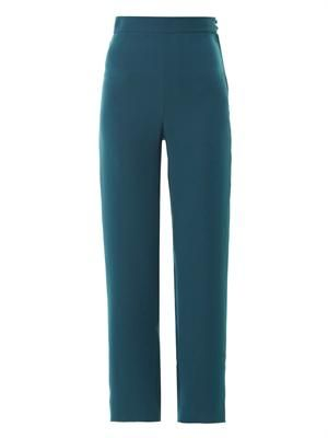 Father Leroy high-waisted trousers