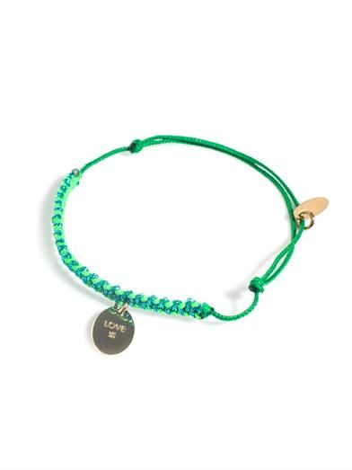 La Môme Bijou Love is a Drug friendship bracelet