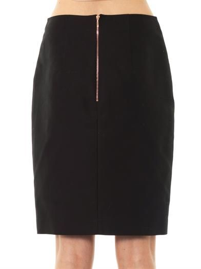 Cédric Charlier Bi-colour skirt