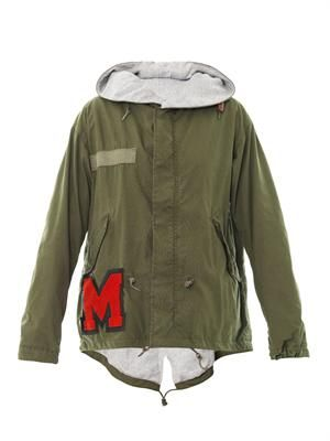 Mini parka jacket