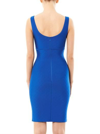 Herve L. Leroux Los scoop-neck dress