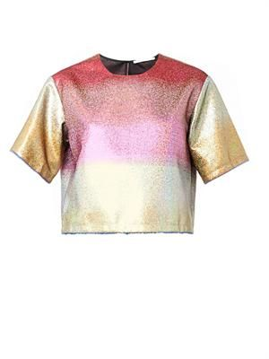 Dégradé metallic blouse