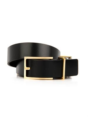 Medusa leather belt