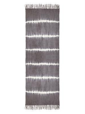 Nui Suji Shibori alpaca-blend scarf