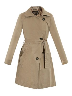 Mercury trench coat