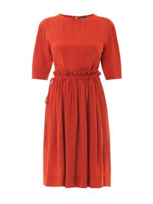Pavillion crepe dress