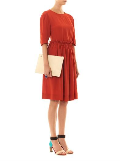 Vivienne Westwood Anglomania Pavillion crepe dress