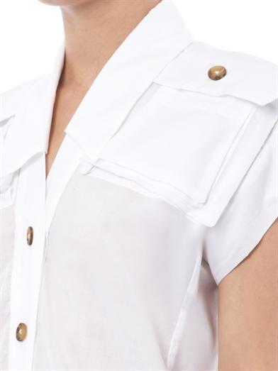 Vivienne Westwood Anglomania Cargo cotton blouse