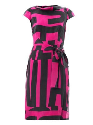Torch Anglo 1970's print dress