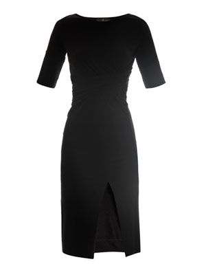 Shu twist jersey dress