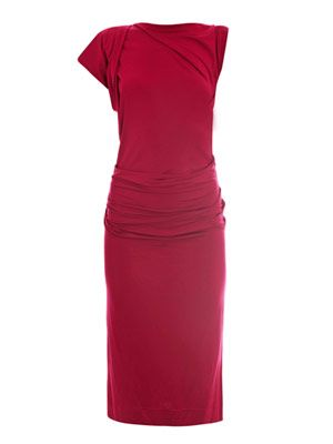 Shaman ruched jersey dress