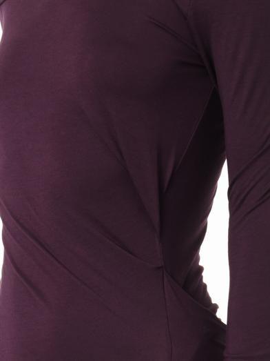 Vivienne Westwood Anglomania Taxa jersey dress