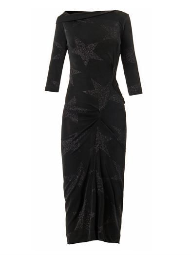 Vivienne Westwood Anglomania Taxa star-knit jersey dress