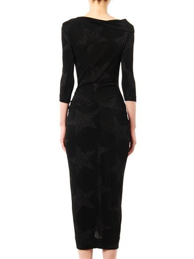 Vivienne Westwood Anglomania Taxa star-knit jersey dress