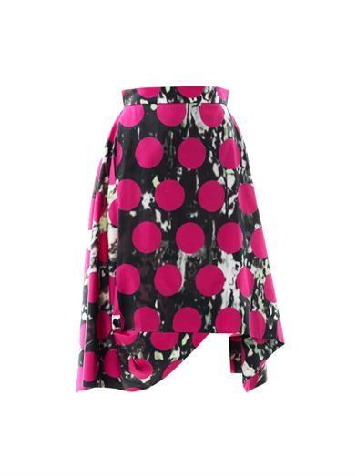 Vivienne Westwood Anglomania Aztec-print full skirt